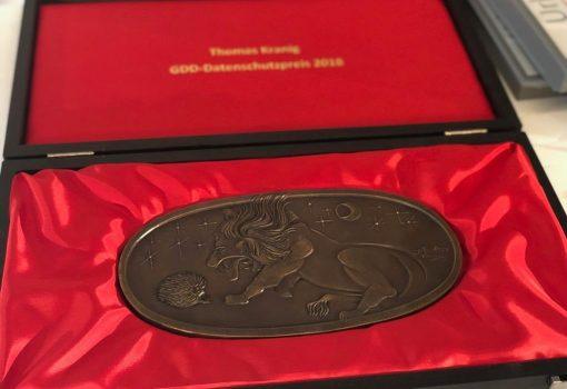 DD-Datenschutzpreis geht daher in diesem Jahr an den Präsidenten des BayLDA Thomas Kranig.