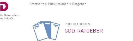 GDD-Ratgeber zum betrieblichen DSB